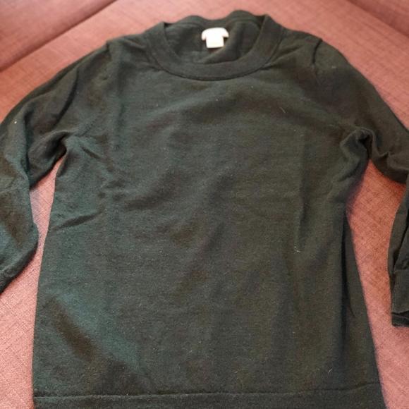 J Crew Sweaters J Crew Factory Slub Cotton Teddie Sweater Poshmark